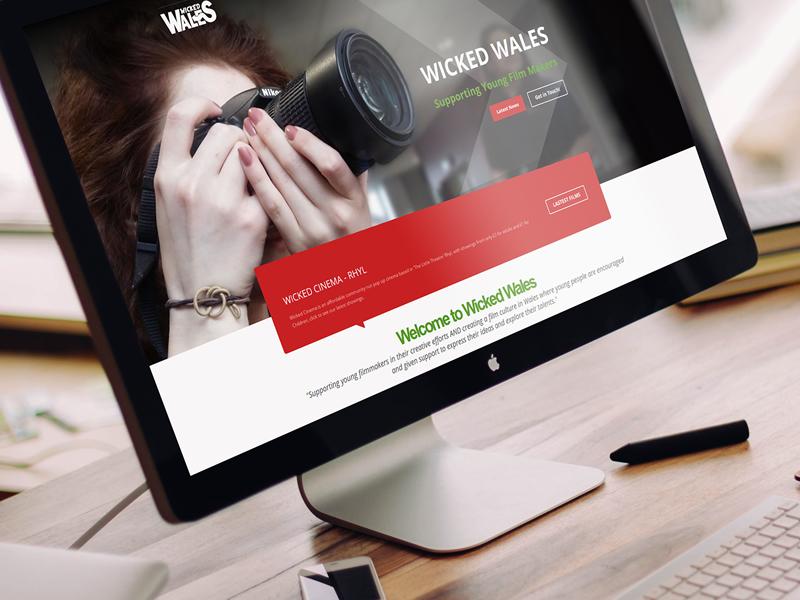 Portfolio Wicked Wales Web Design North Wales 01745 289111
